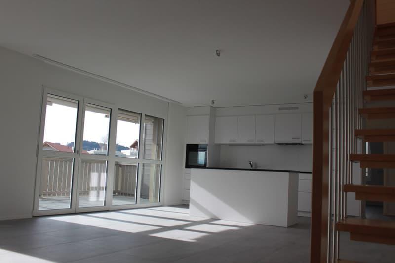 Erstvermietung 5.5-Zimmer-Duplexwohnung in Utzigen / 156m2