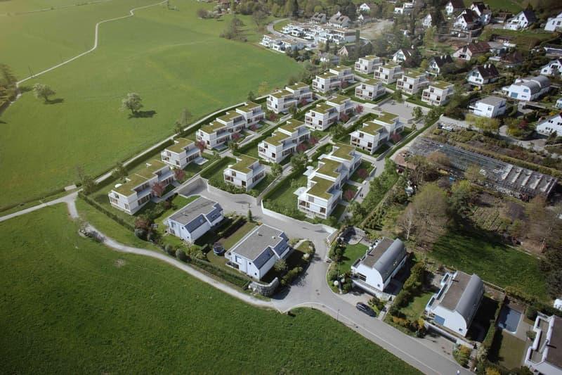 Luftbild - Ansicht Überbauung