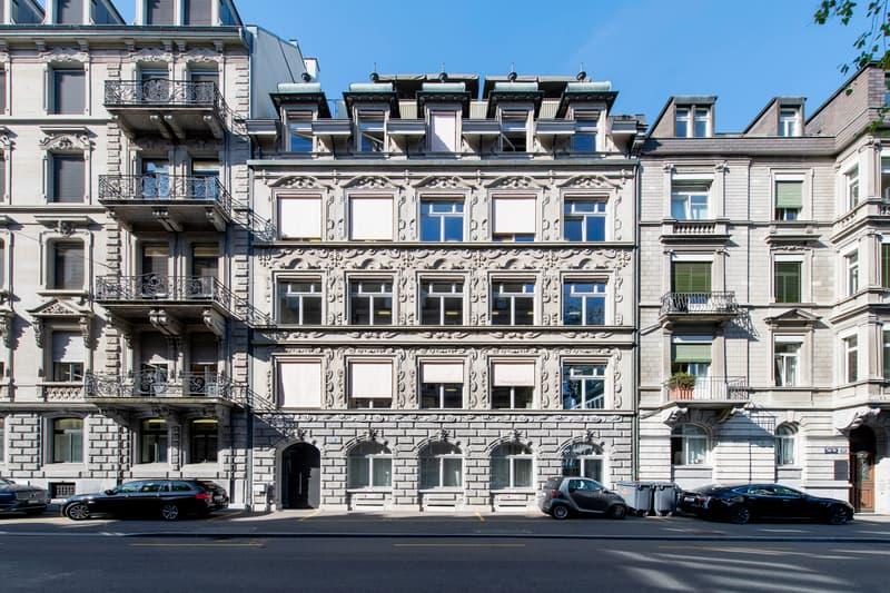 Letzte Büros im Jugendstil-Liegenschaft in Zürich-Enge