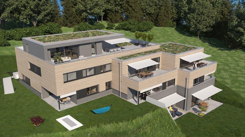 Neubau-Traumwohnung mit Blick über Wülflingen