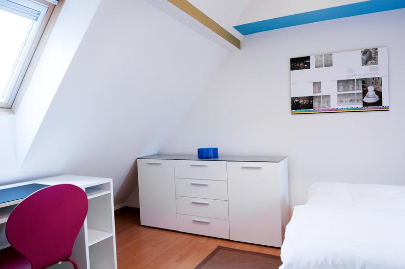 Furnished 1-bedroom penthouse apartment in the middle of Zug