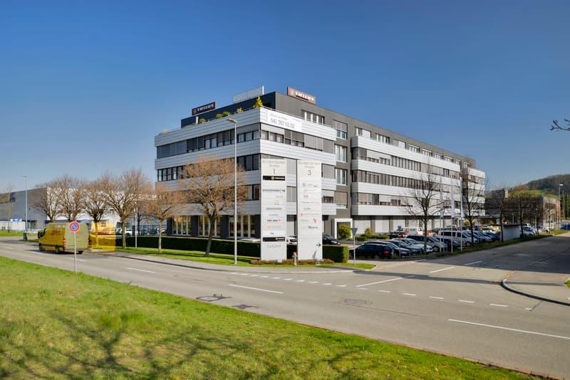 Südostansicht, Industrie-/Bodenäckerstrasse
