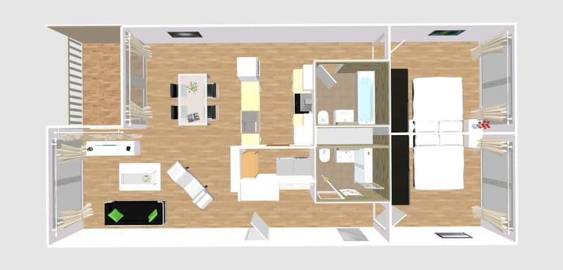 Moderne Wohnung an der Marktgasse 11