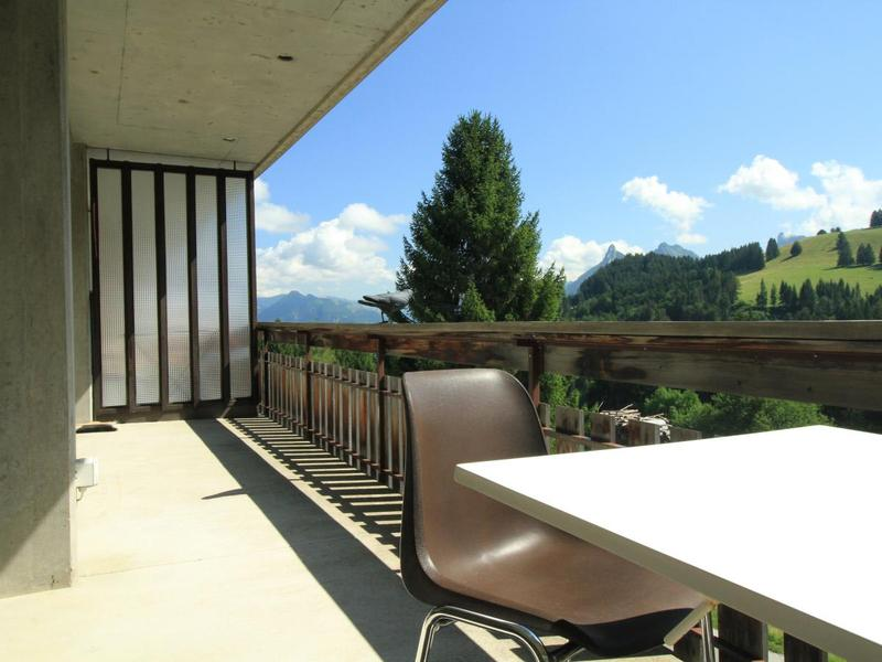 Magnifique balcon spacieux avec vue agréable