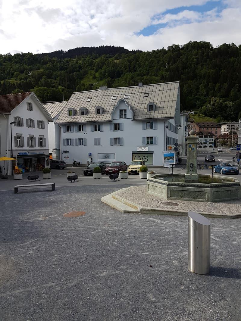 Zentrum, beim Stadtbrunnen