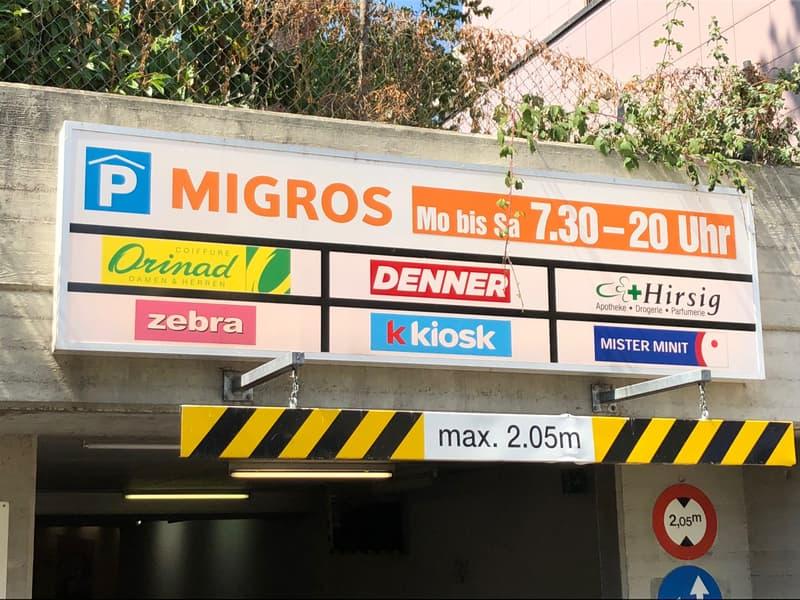 Attraktive Werbeflächen in hoch frequentierter öffentlicher Tiefgarage