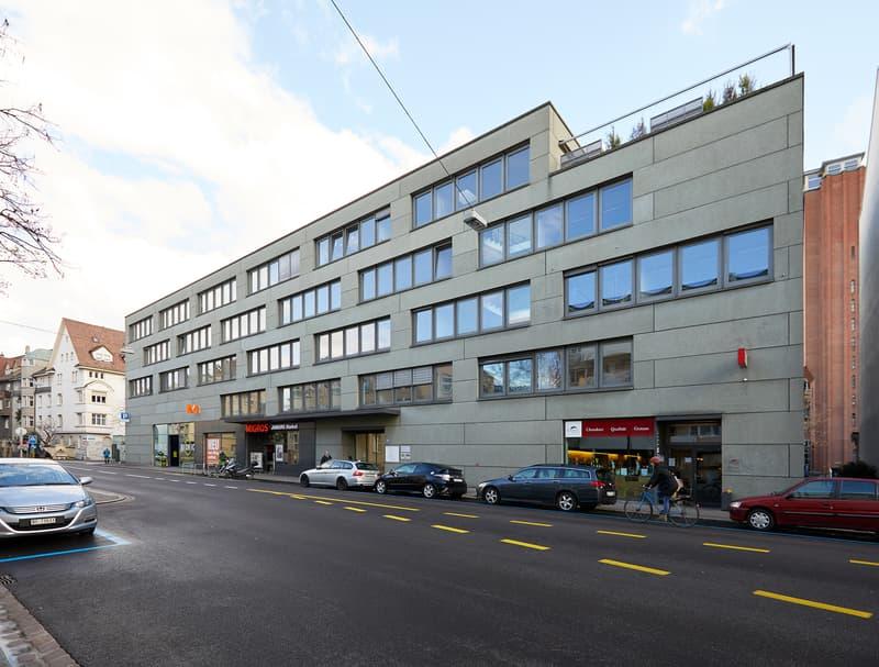 Flexible Bürofläche im Geschäftshaus Warteckhof, in der Nähe der Roche, Wettsteinplatz, Rhein (1)