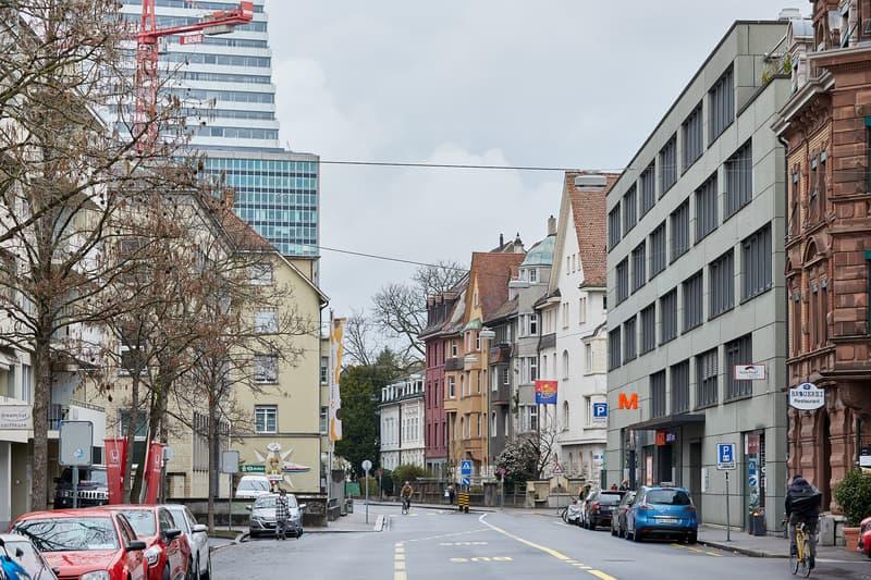 Flexible Bürofläche im Geschäftshaus Warteckhof, in der Nähe der Roche, Wettsteinplatz, Rhein (2)