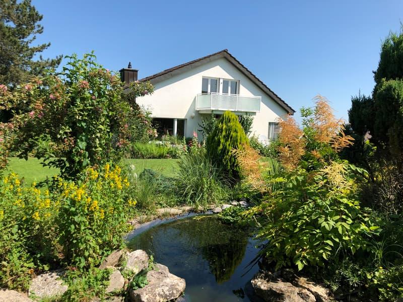 Garten mit Biotop