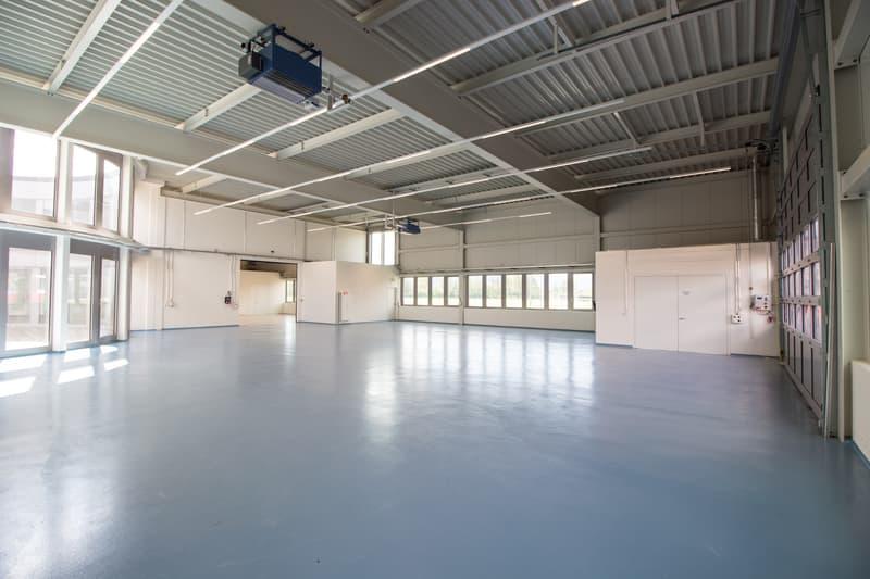 1'460 m2 Gewerbe-/Produktionshalle inkl. Nebenräume (Hallenhöhe 6.35m)!