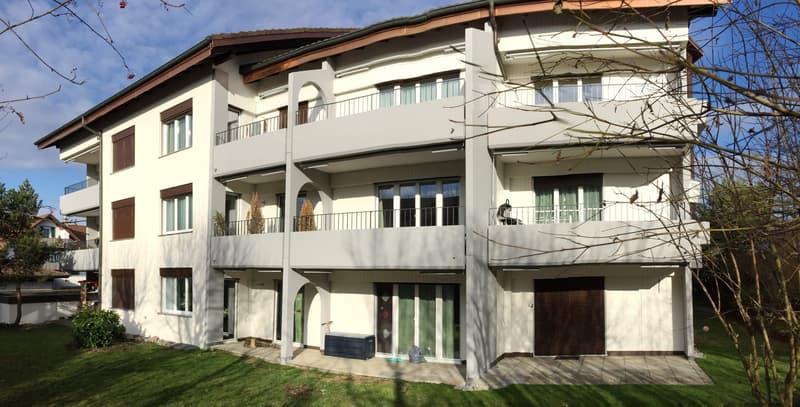 Wohnung in der ersten Etage mit Balkon