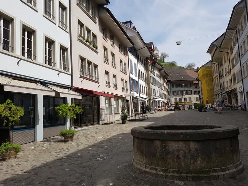 Gewerbeflächen im Herzen der renommierten Lenzburger Rathausgasse