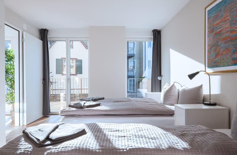 Möblierte Wohnung mit 2 Zimmern im Zentrum von Basel