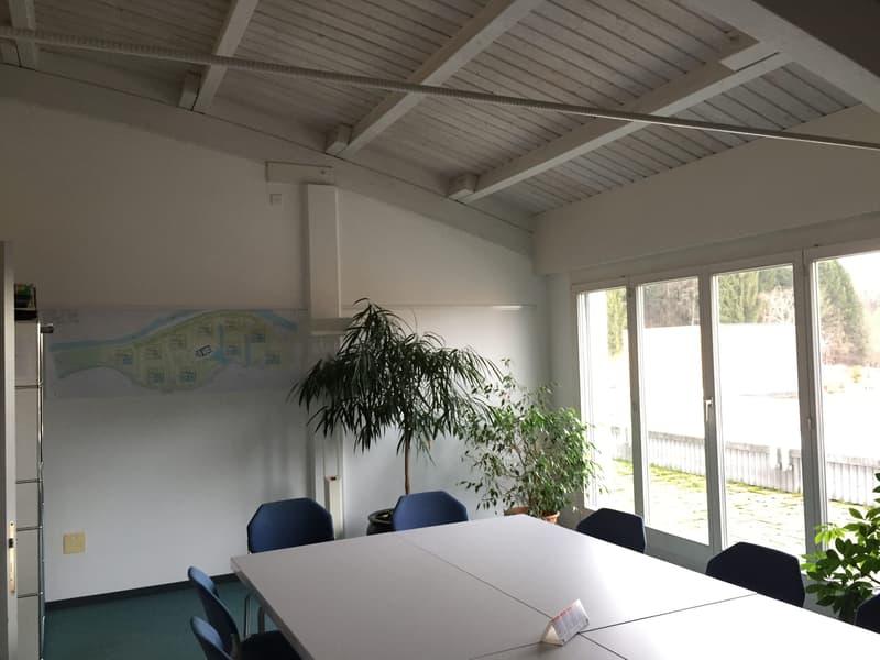 Büro mit grosser Attika-Terrasse