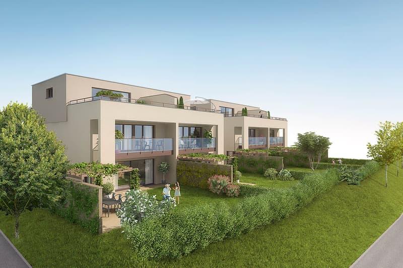 Exklusive Doppel-Einfamilienhaus-Überbauung
