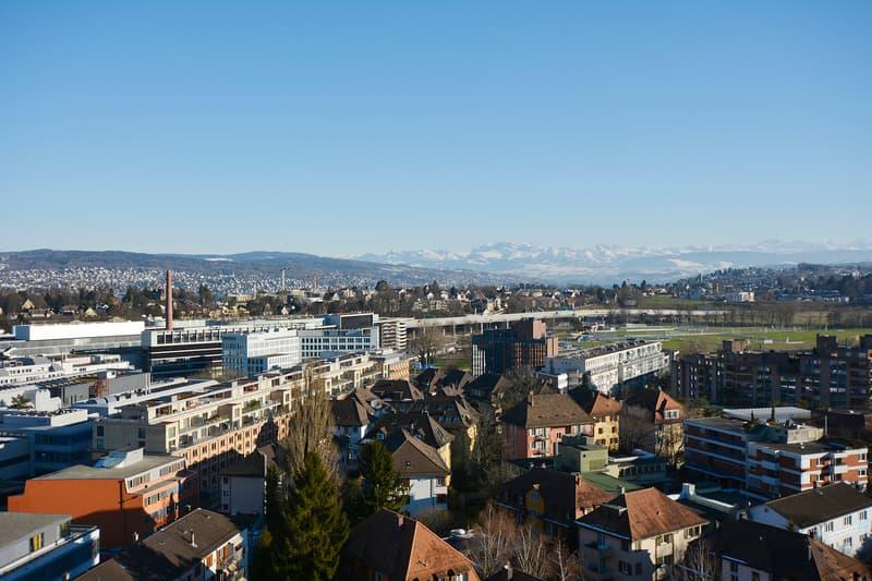 Moderne und bezugsbereite Büros mit 360° Sicht über Zürich - befristete Miete bis 31.10.2022 möglich (4)