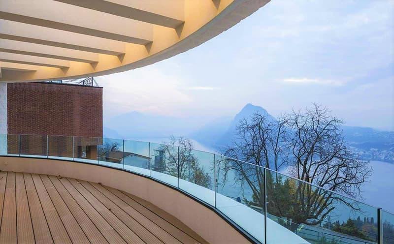 Esclusiva Villa con vista lago e piscina