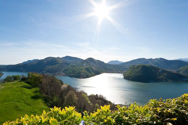 COLLINA D'ORO-AGRA, Affittiamo da subito incantevole duplex di 4.5 locali con vista lago di Lugano