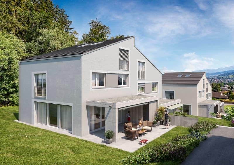 5.5 DEFH Hüslen - Vollmoos / letzte Häuser
