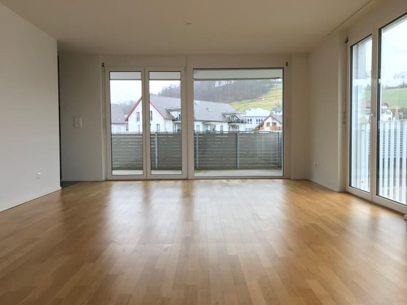 moderne Wohnung mit 2 Nasszellen, grossem Balkon und vieles mehr!