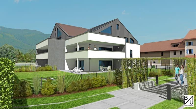 Nouvelle construction de 9 appartements de 3.5 pièces et 4.5 pièces