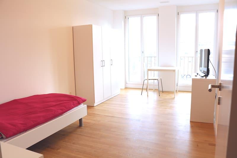 möbliertes Zimmer in Zug