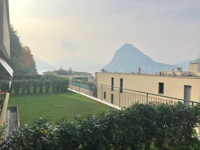 Ottimo investimento - Monolocale con giardino, vista lago a Lugano - Cassarate