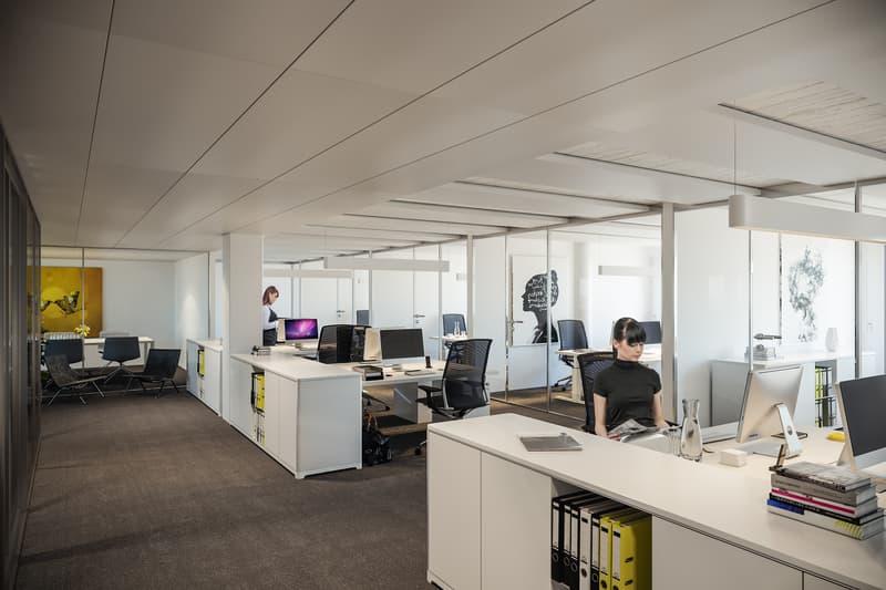 Innenvisualisierung Einzelbüro-Layout