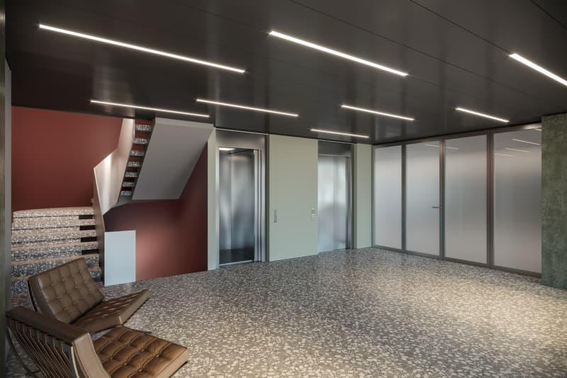 Innenvisualisierung Eingangsbereich