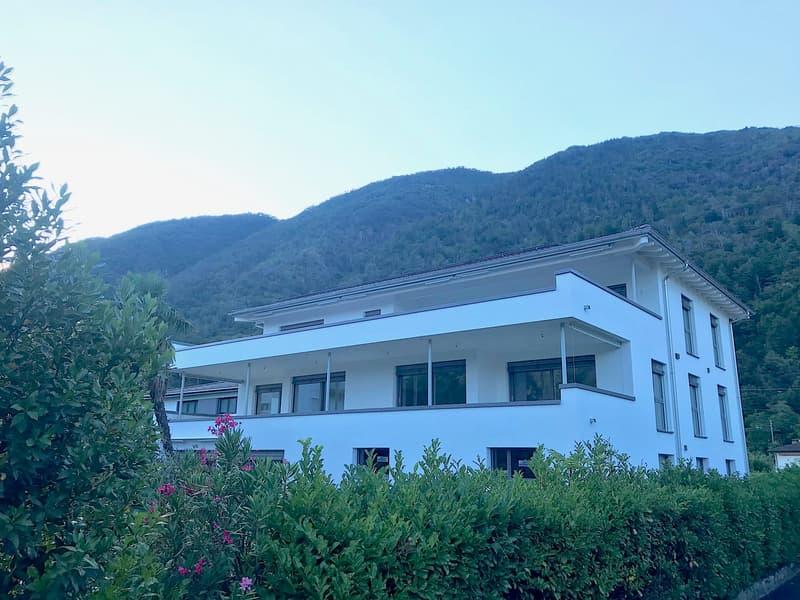VERSCIO - NEUE 3,5 Zi. Wohnungen mit grosser Terrasse und Aussicht