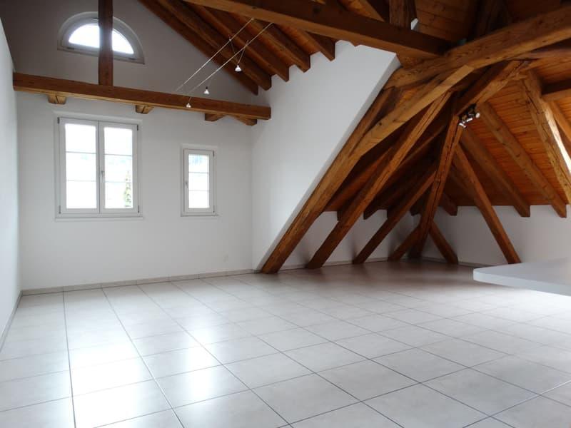 grosszügige, charmante 3-Zimmer-Dachwohnung