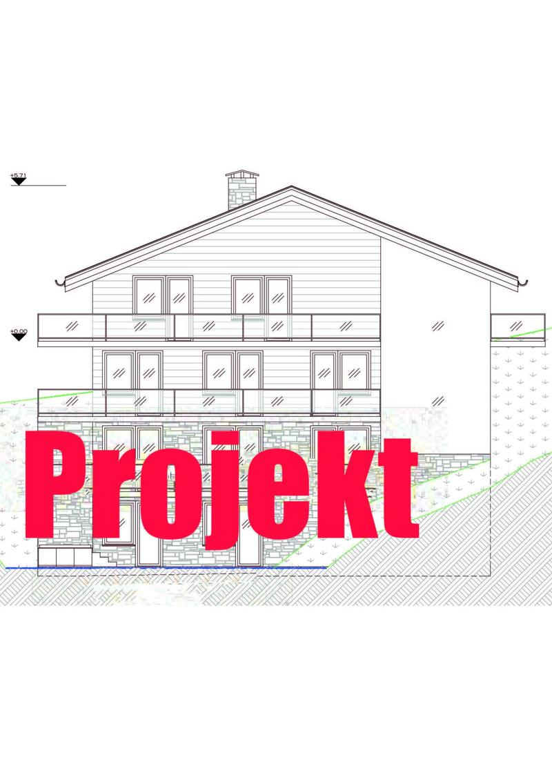 Bauland mit Projekt in Engelberg zu verkaufen
