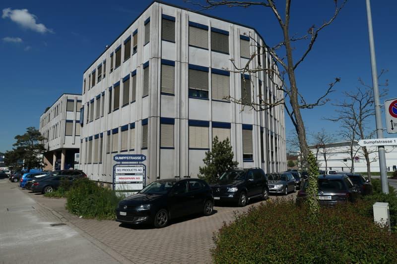Ihr neues Firmendomizil an der Sumpfstrasse 5, 6312 Steinhausen