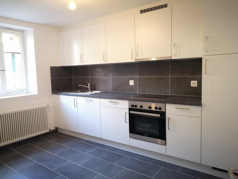 1er loyer offert - 2.5 pièces rénové de 55 m2 - Lucens