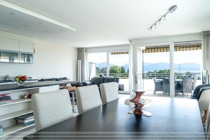 Appartement de 4,5 pièces, vue panoramique sur le Léman (4)
