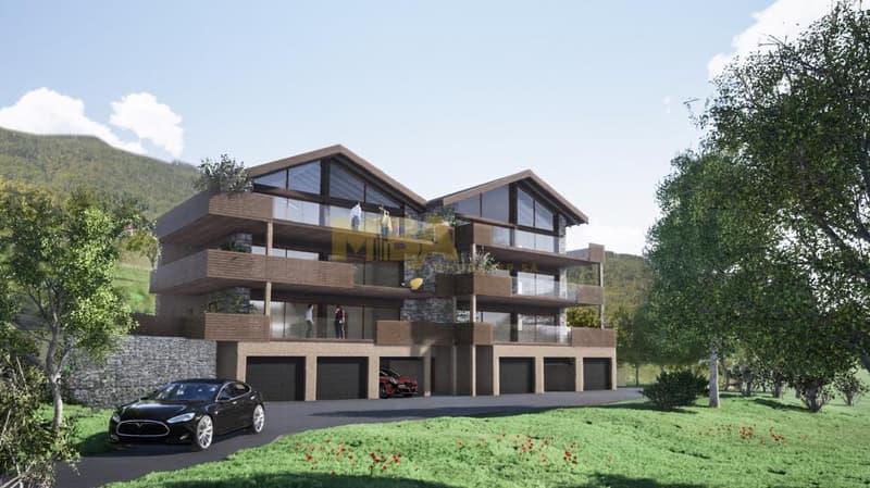 Appartement neuf 4.5 pièces à VENDRE au 1er étage