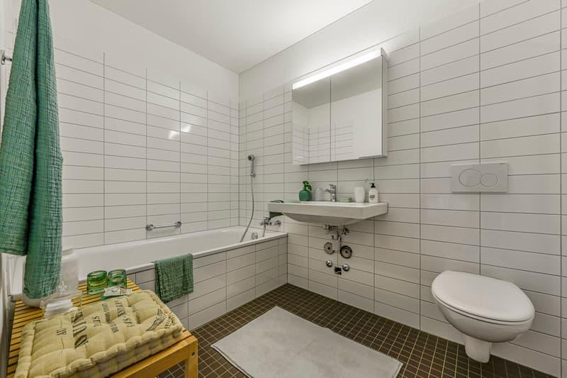 Visualisierung Badezimmer mit Badewanne