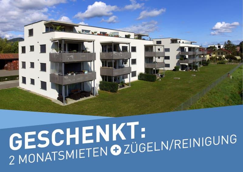 *SORGLOS UMZIEHEN* 3.5-Zimmer-Wohnung im Städchen Neunkirch