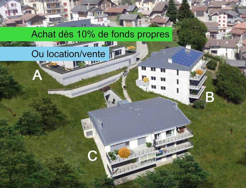 VENTE OU LOCATION-VENTE D' APPARTEMENTS DE QUALITES