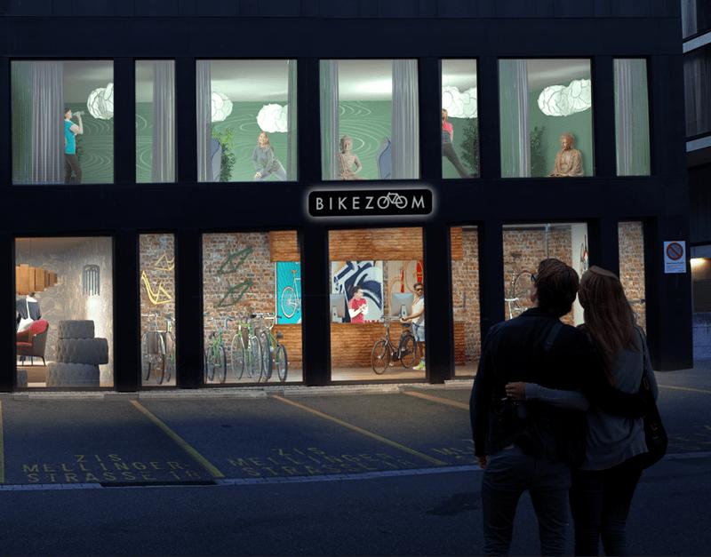 ZOOMen Sie Ihre Ausstellungsfläche ins Zentrum von Baden