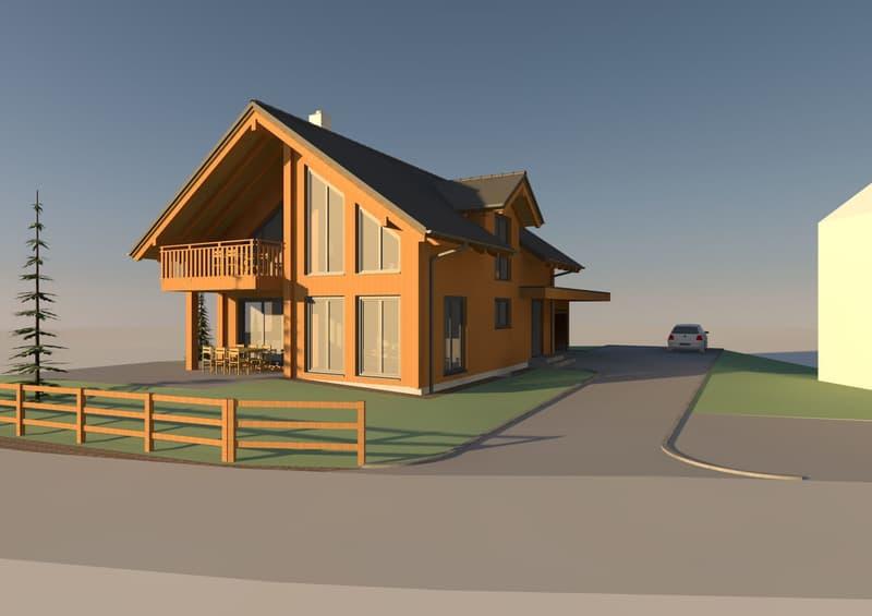 Neubauprojekt 5 1/2 Landhaus bewilligt!