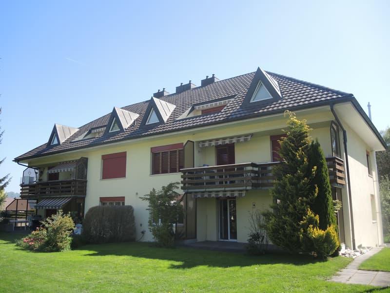 Grosszügige Dachwohnung in Altishofen