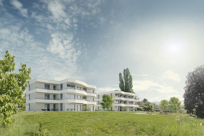 Les Chapponeyres - Nouvelle construction de 15 appartements en PPE à vendre sur plan