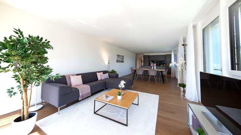 NEUBAU - Exklusive Wohnung im Erstbezug mit Aussicht ins Grüne