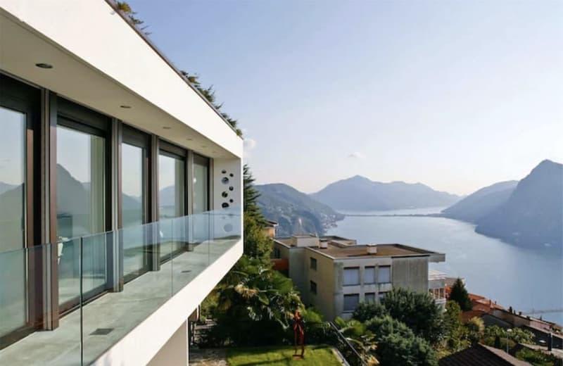 Lussuoso Appartamento di Design  con Spettacolare Vista Lago di Lugano