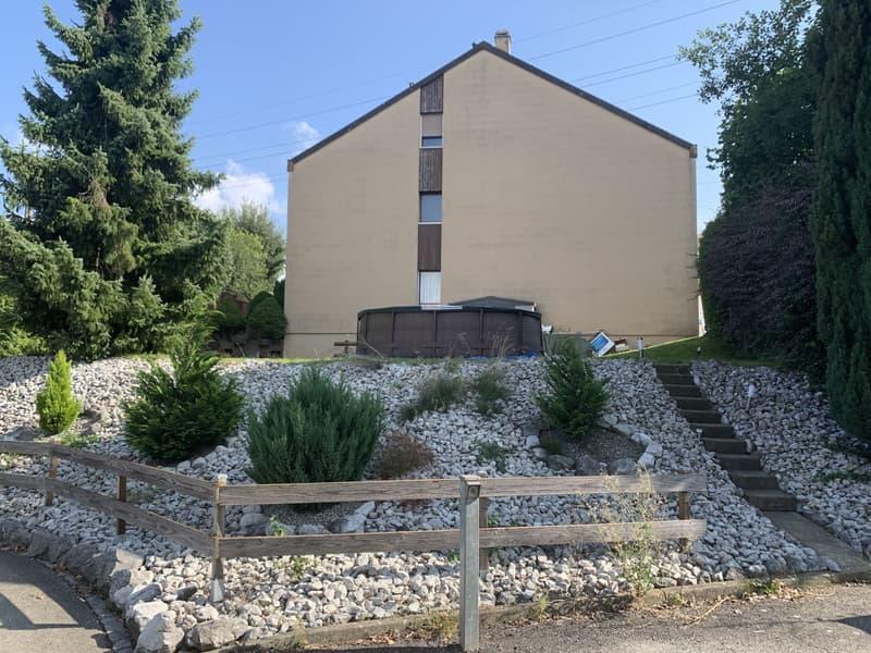 A vendre villa jumelée de 6,5 pces sur la Commune de Granges-Paccot