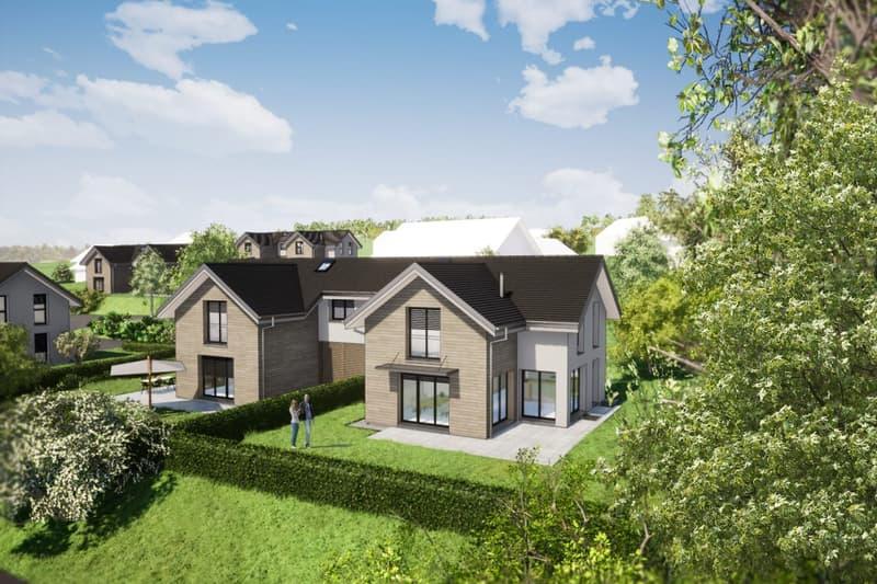 Nouveau projet SAVIGNY - villas jumelles modernes - vente sur plan