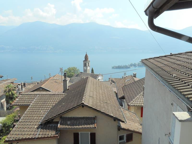 Appartamento mansarda 2 locali a Ronco sopra Ascona