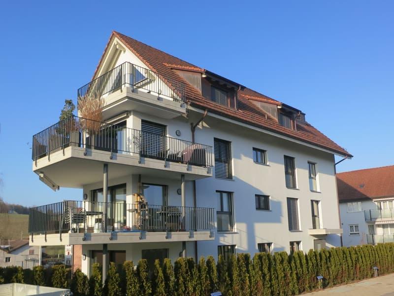 Neuwertige und moderne Wohnung mit grossem Balkon und eigener Waschküche