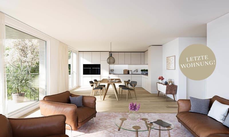 Letzte Chance: Grosszügige 3.5-Zimmer-Wohnung mit sonniger Terrasse